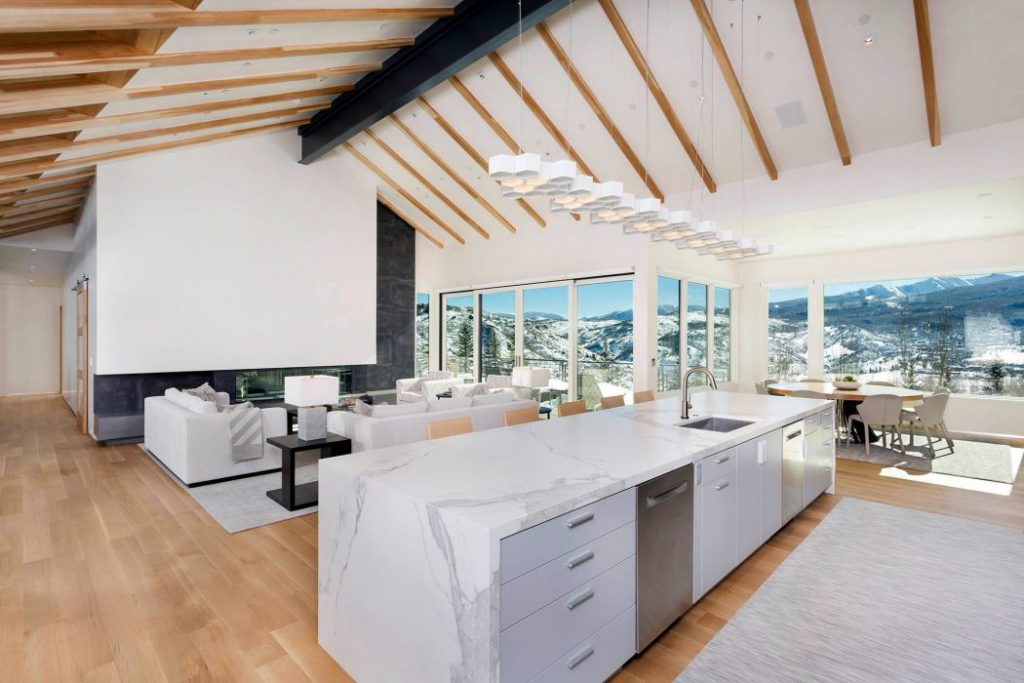 006 contemporary residence hagman architects 1050x700 1024x683 - The perfect refuge to enjoy the snow-capped mountains of Colorado