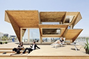 01 elevation endessa1 300x199 - Endesa Pavilion, Smart City Expo, Barcelona, Spain
