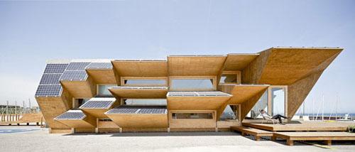 03 side elevation1 - Endesa Pavilion, Smart City Expo, Barcelona, Spain