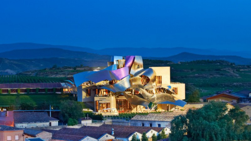 1 MarquedeRiscal e1414574710103 - Architect Frank Gehry receive the Prince of Asturias Award for the Arts
