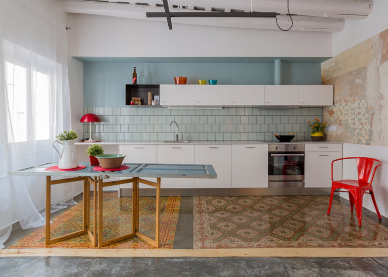 1 ROC3 apartment - Apartment Refurbishment in Barcelona by Nook Architects