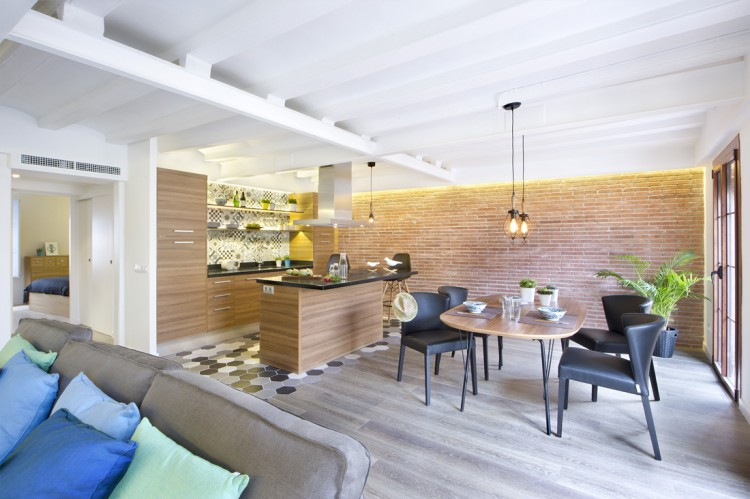 1. Apartment renovation in Barcelona