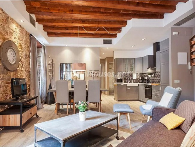 1. Apartment to rent in Barcelona Long Term e1457626267413 - Super stylish apartment to rent in Barcelona