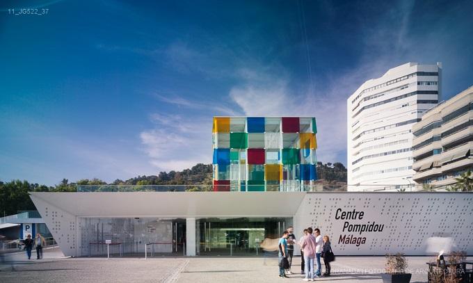 1. Centre Pompidou Málaga 1 - Centre Pompidou Málaga by Javier Pérez de la Fuente and Juan Antonio Marín Malavé