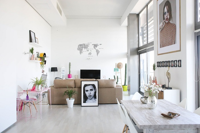 1. Eclectic Loft in Valencia