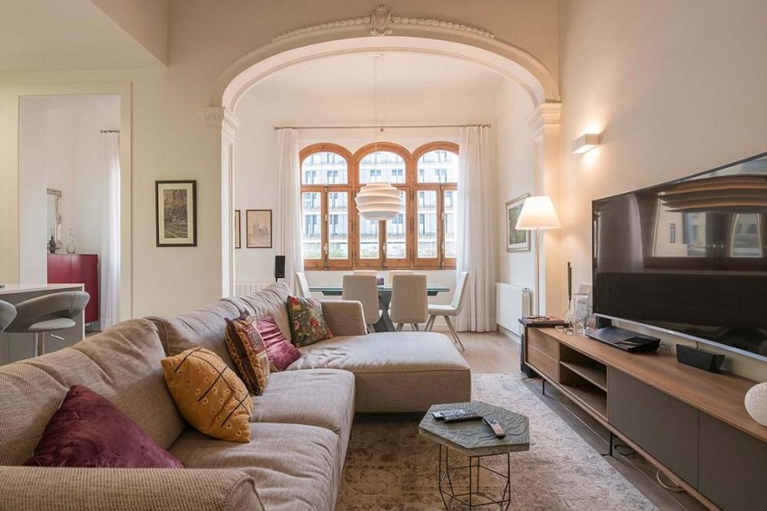 This Stylish Apartment Has An Unbeatable Location, Within A Recently  Renovated Building In The Heart Of Barcelona City CentreOpens In A New  Window, ... Part 76