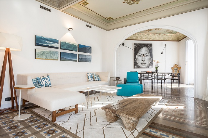 1. Flat in Eixample, Barcelona, by Squad One