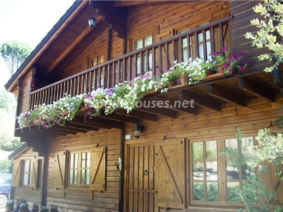 1. House for sale in Cebreros Ávila - For Sale: Wooden House in Cebreros, Ávila