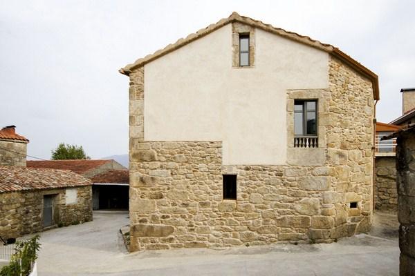 1. House in Nautigos A Coruña - House Rehabilitation in Carnota, A Coruña