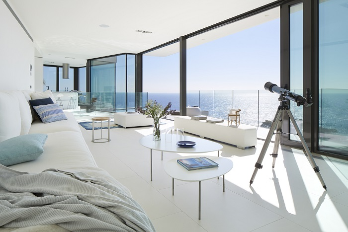 1. Seaside residence in Girona - Seafront house in Girona designed by Anna Podio Arquitectura