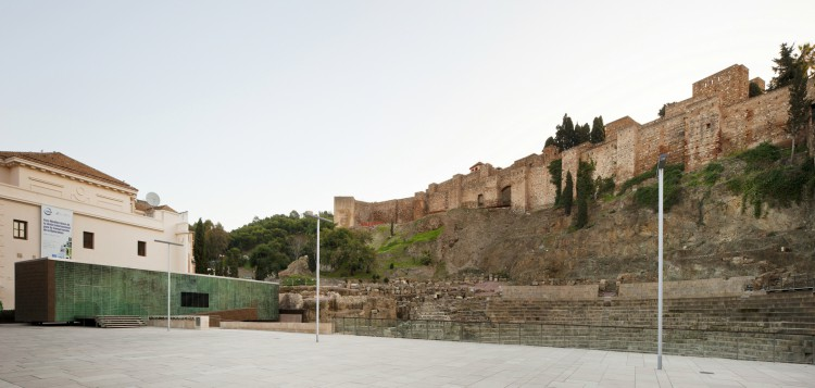 1. Visitor Center of the Roman Theatre of Malaga