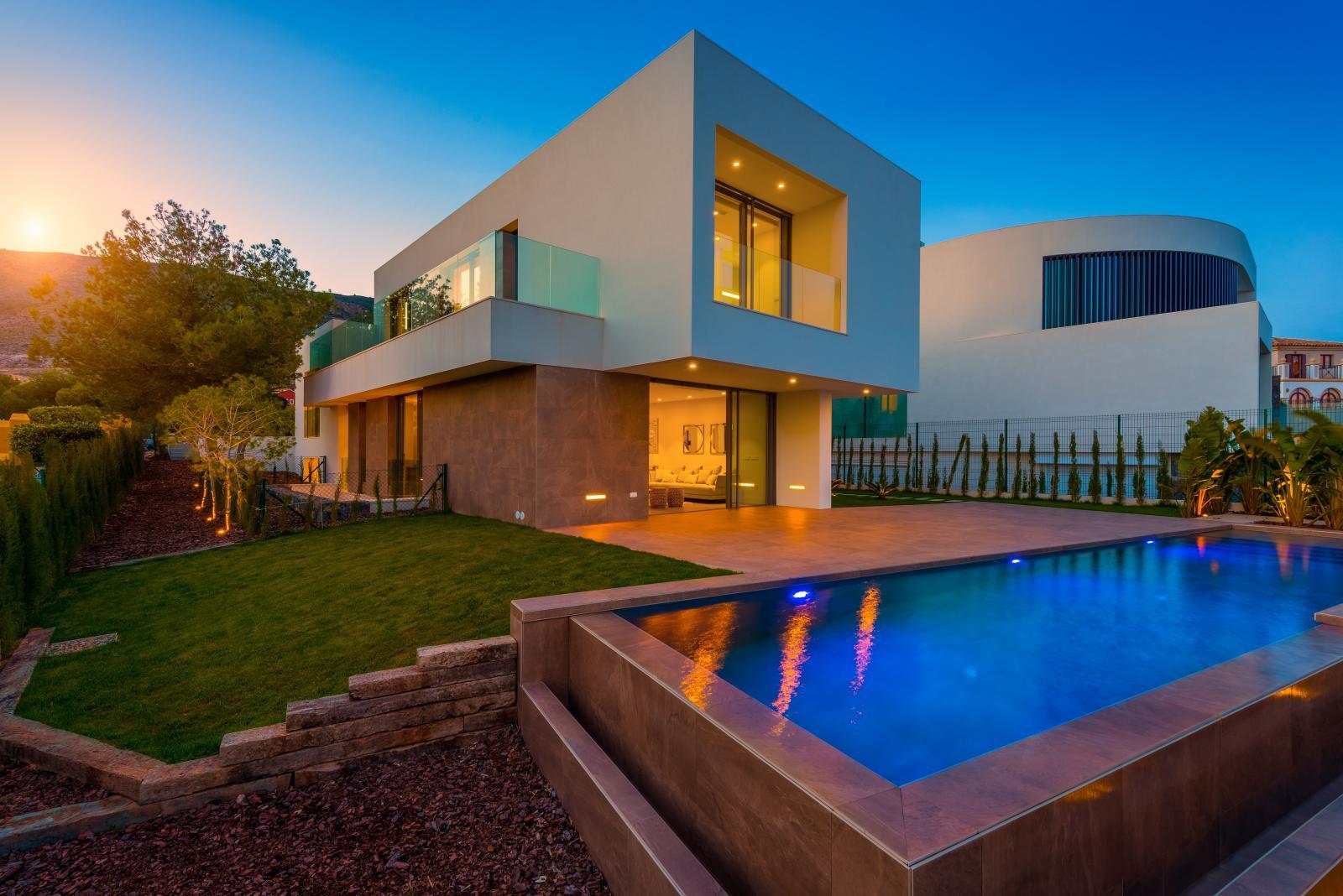 10. Brand new villa in Finestrat Alicante - Fantastic Brand New Villa in Finestrat, Alicante