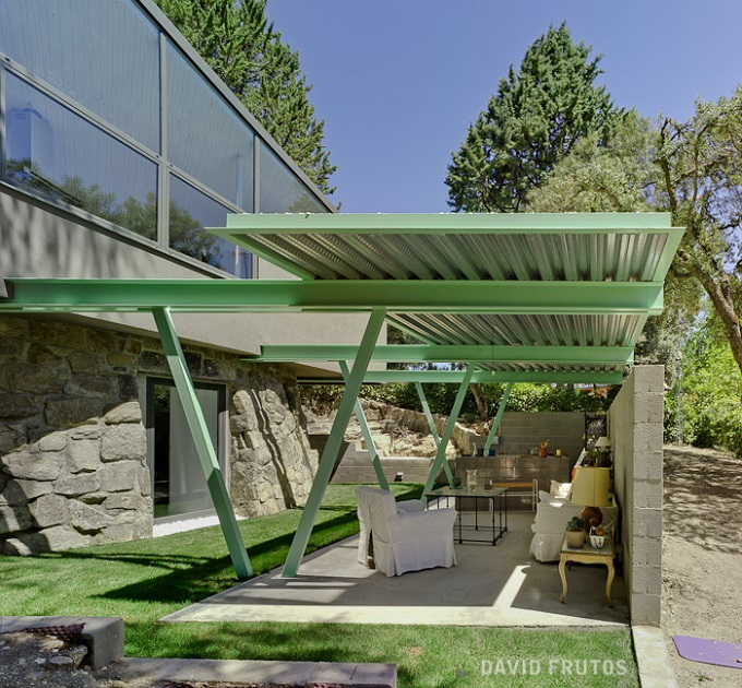 10. Casa Aljibe in Alpedrete Madrid - Single House Re-Using a Former Water Cistern by Valdivieso Arquitectos