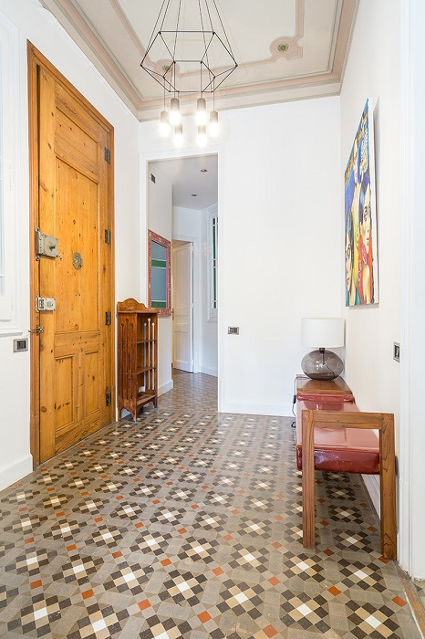 10. Flat in Eixample, Barcelona, by Squad One