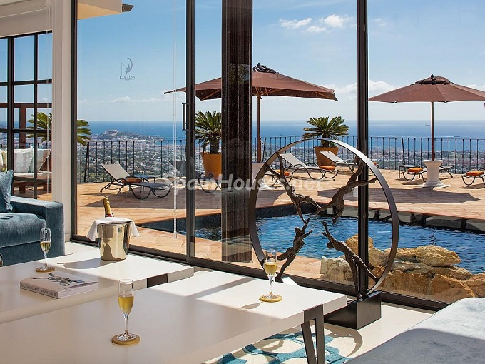 10. Holiday rental house in Ibiza (Balearic Islands)