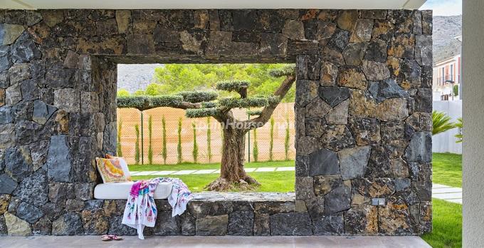 11. Villa in Finestrat Alicante designed by Gestec 1 - Modern Villa in Finestrat, Alicante, designed by GESTEC