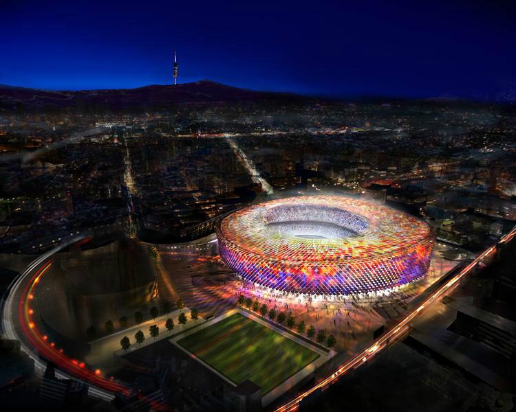 111 - FC Barcelona's Camp Nou Stadium Redesigning