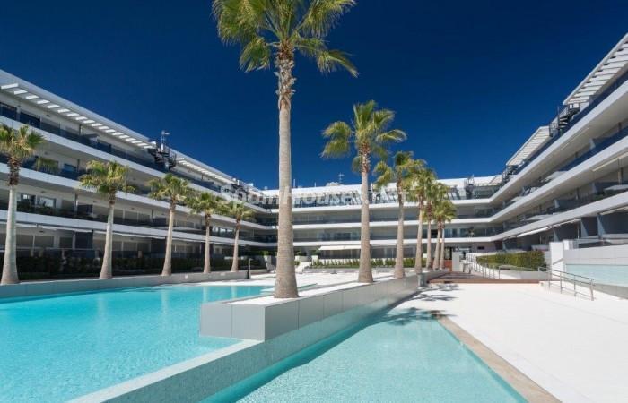 1121 - Spectacular Holiday Rental Penthouse in Ibiza, Balearic Islands
