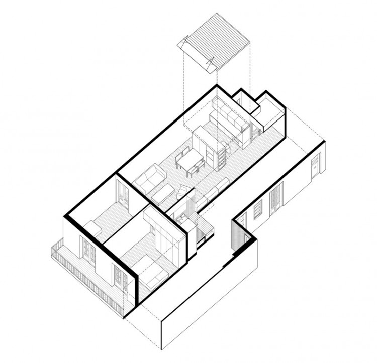 12. Apartment Refurbishment in Barcelona