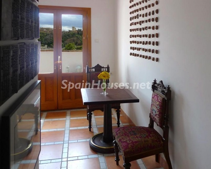 12. House for sale in Granada 3 - For Sale: House in Granada with unbeatable views to the Alhambra