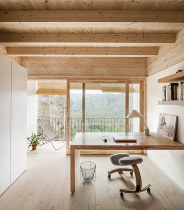 12. Modern residence Barcelona1 - House LLP in Barcelona by Alventosa Morell Arquitectes