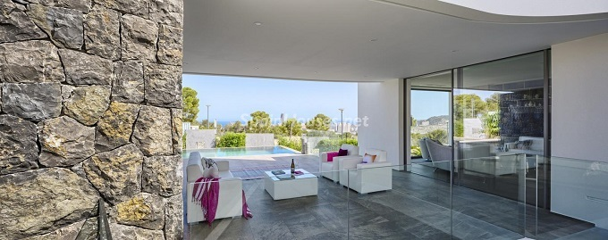12. Villa in Finestrat Alicante designed by Gestec - Modern Villa in Finestrat, Alicante, designed by GESTEC