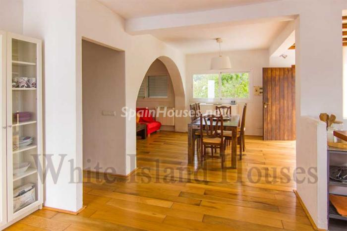 1235 - White and Minimalist Villa for Sale in Ibiza, Balearic Islands