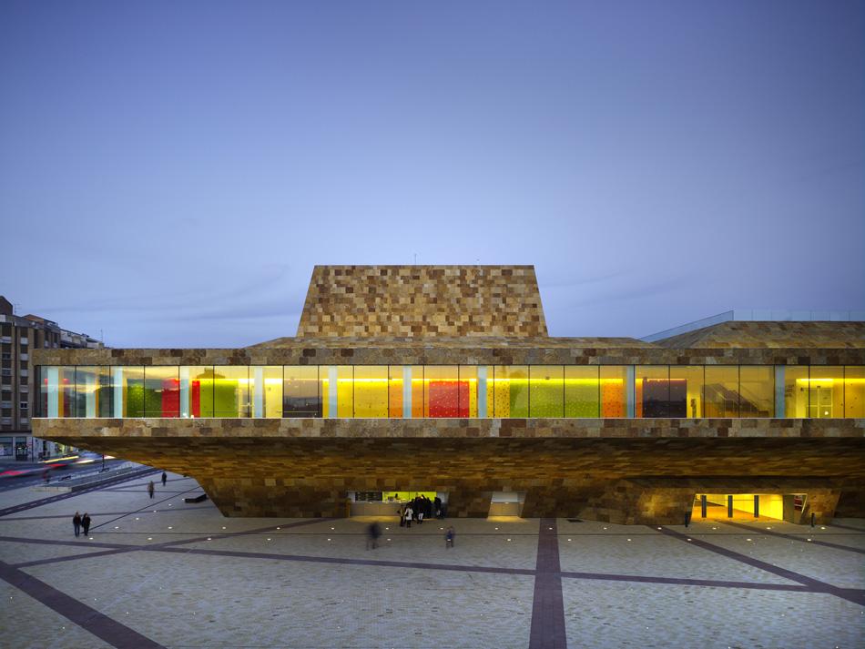 124 - La Llotja theatre and conference centre Lleida, Spain