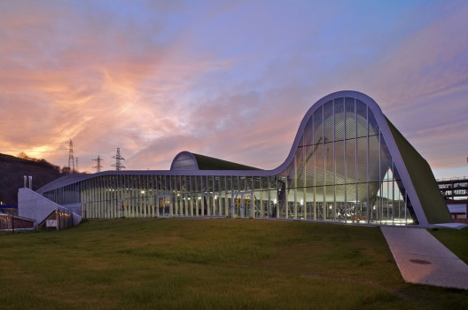 126 - Architecture in Spain: Sports Centre in Langreo, Asturias