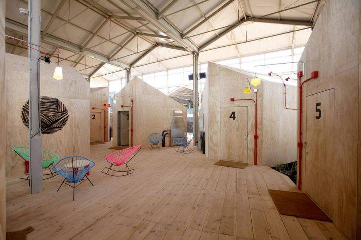 127 - Architecture: The centre of contemporary art Matadero in Madrid