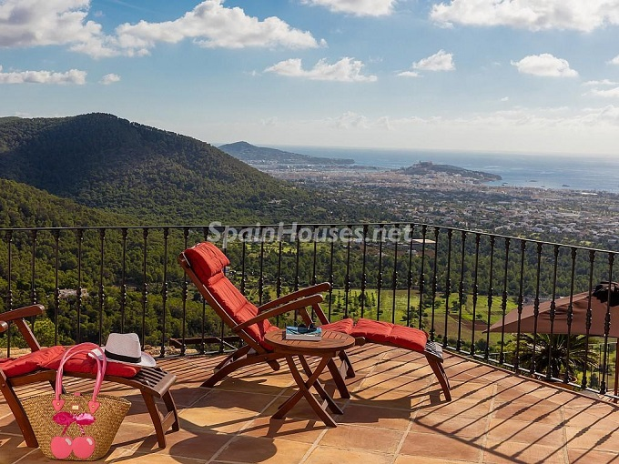 13. Holiday rental house in Ibiza (Balearic Islands)