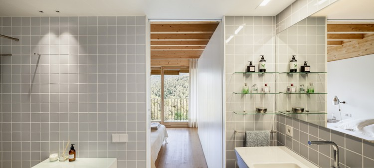 16. Modern residence Barcelona1 e1447837555376 - House LLP in Barcelona by Alventosa Morell Arquitectes