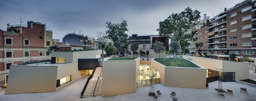 175 e1405496158694 - Joan Maragall Library by BCQ Arquitectura Barcelona