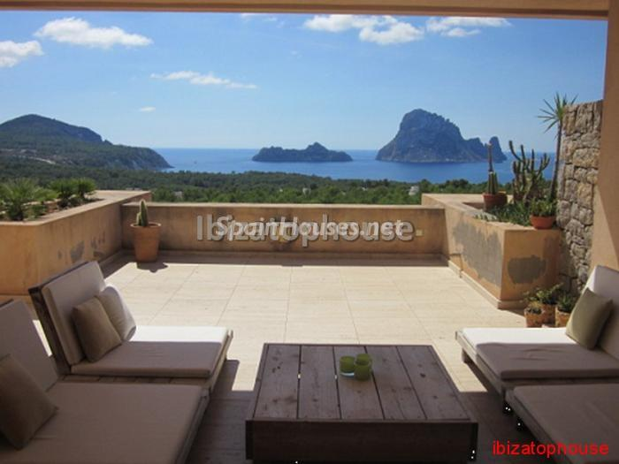 183 - Apartment with unbeatable views for sale in Sant Josep de sa Talaia, Ibiza