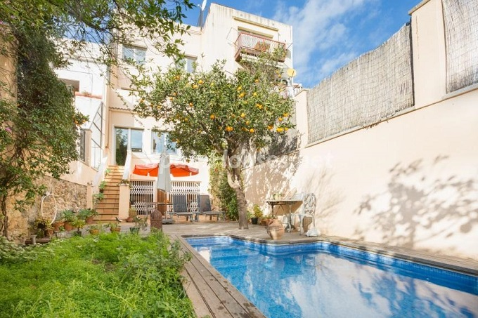 19. Home in Gràcia Barcelona - For Sale: Terraced house in the heart of Barcelona city