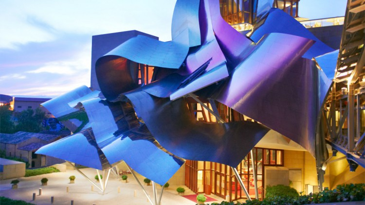 2 MarquedeRiscal e1414573790541 - Architect Frank Gehry receive the Prince of Asturias Award for the Arts