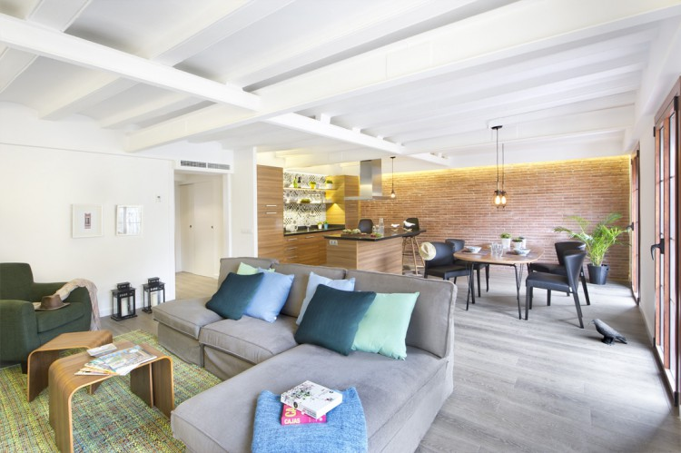 2. Apartment renovation in Barcelona