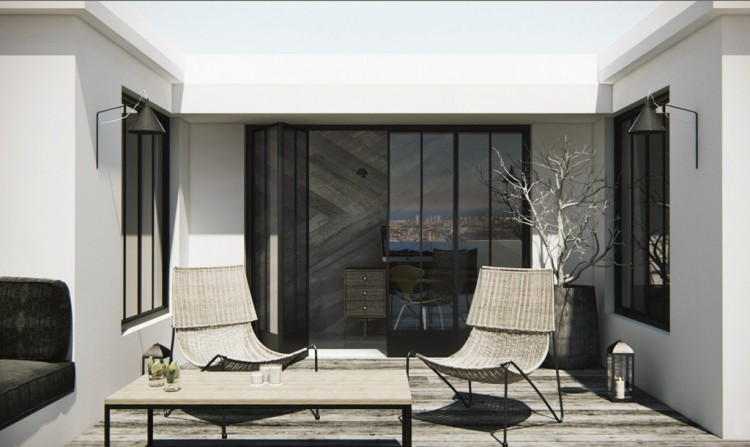 2. Attic apartment in Barcelona