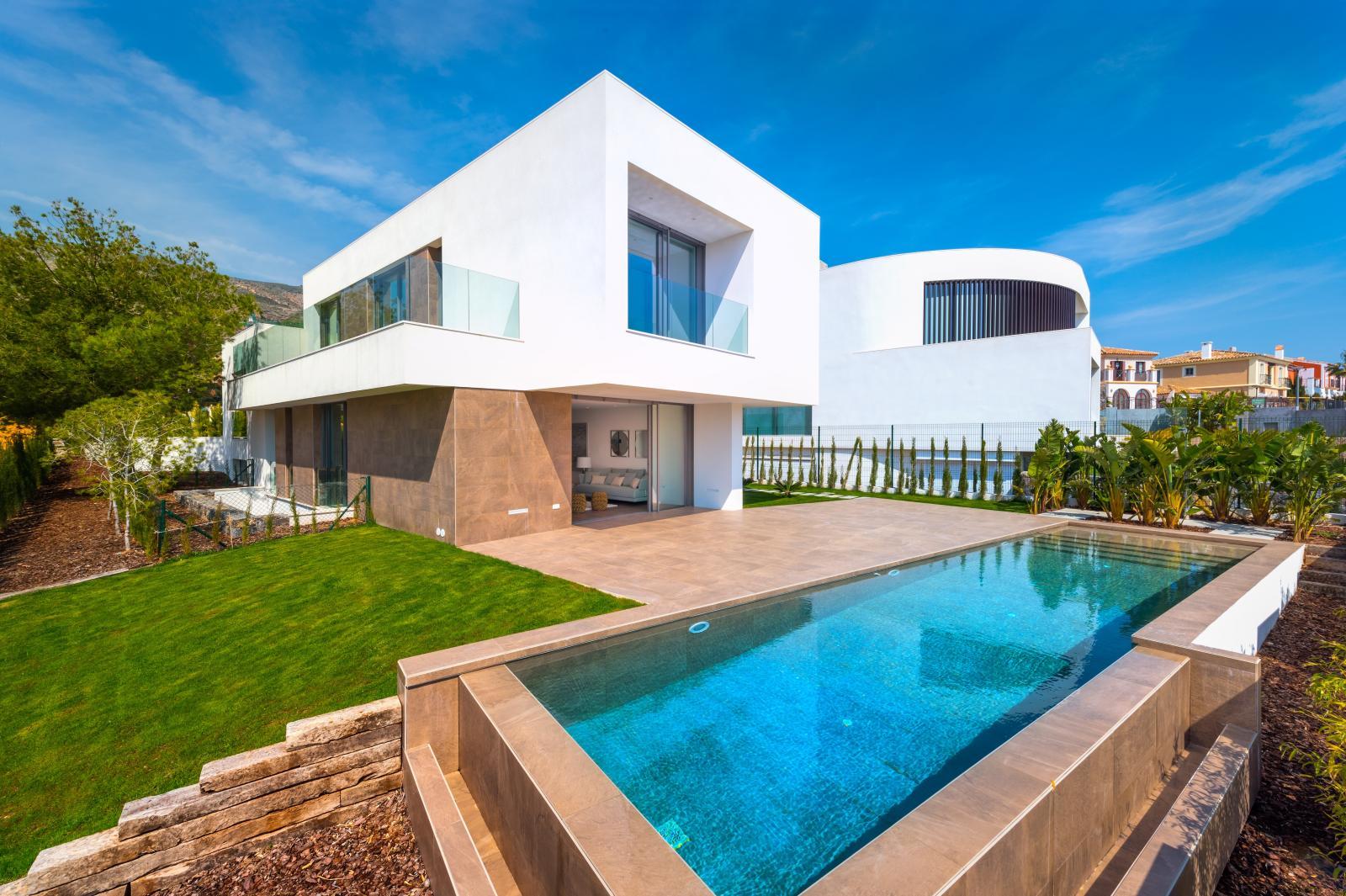 2. Brand new villa in Finestrat Alicante - Fantastic Brand New Villa in Finestrat, Alicante