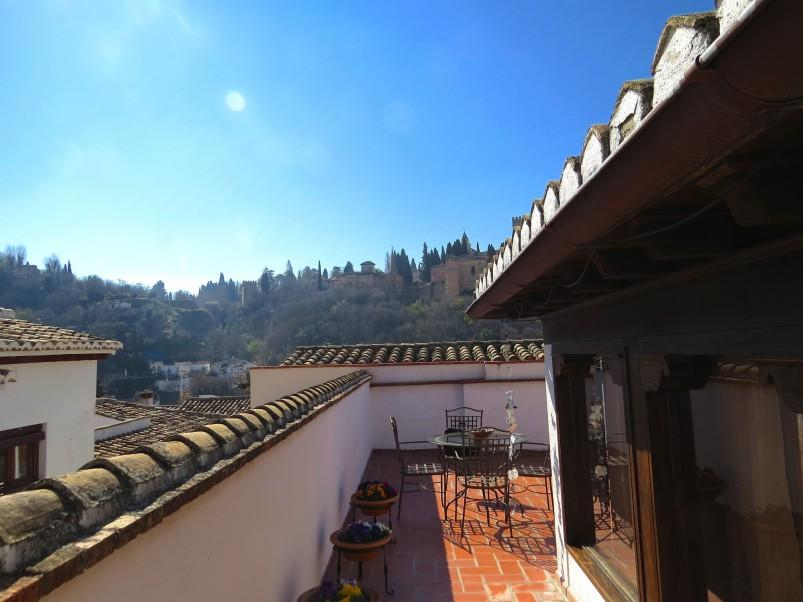 2. House for sale in Granada 4 - For sale: 3 bedroom house in Granada city with views over the Alhambra