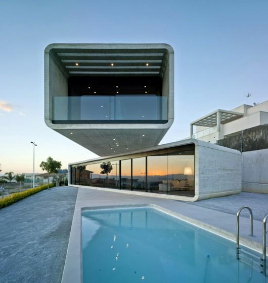 2. House in La Alcayna Murcia - Crossed House: Dwelling in La Alcayna, Murcia
