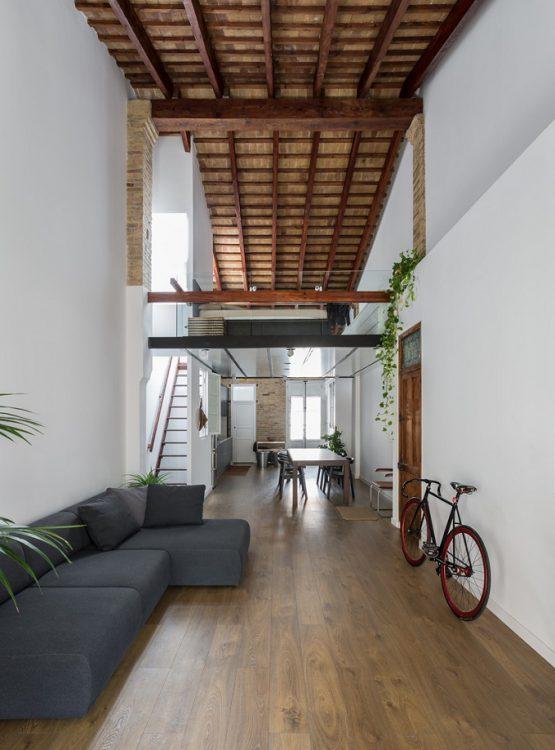 2. Loft renovation in Valencia