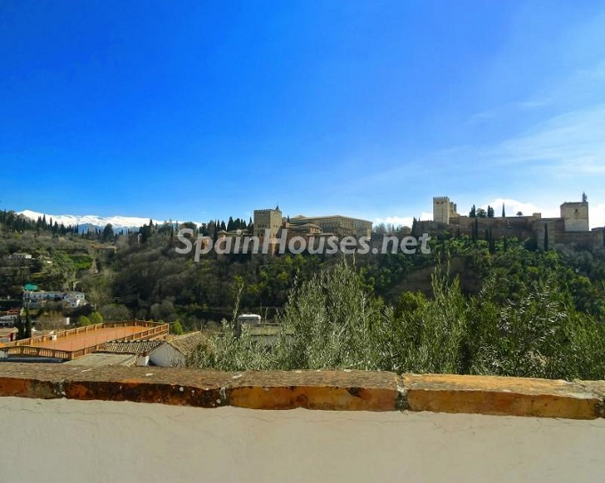 21. House for sale in Granada 3 - For Sale: House in Granada with unbeatable views to the Alhambra