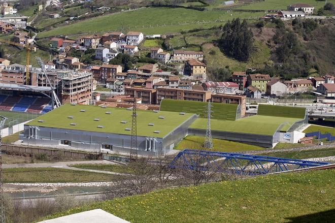 215 - Architecture in Spain: Sports Centre in Langreo, Asturias