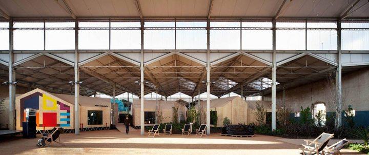 216 - Architecture: The centre of contemporary art Matadero in Madrid