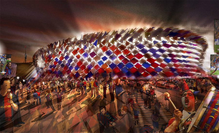 24 - FC Barcelona's Camp Nou Stadium Redesigning