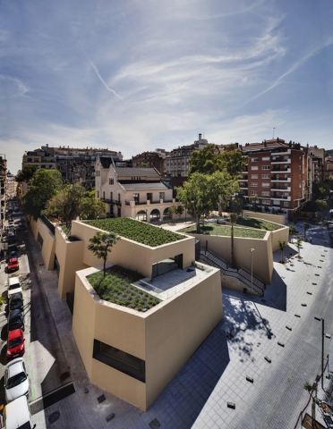 246 - Joan Maragall Library by BCQ Arquitectura Barcelona