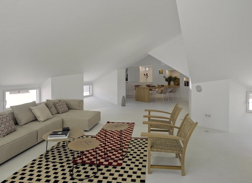 3. Apartment in Madrid by Abaton Architects - Modern Penthouse Apartment in Madrid by Abaton Architects