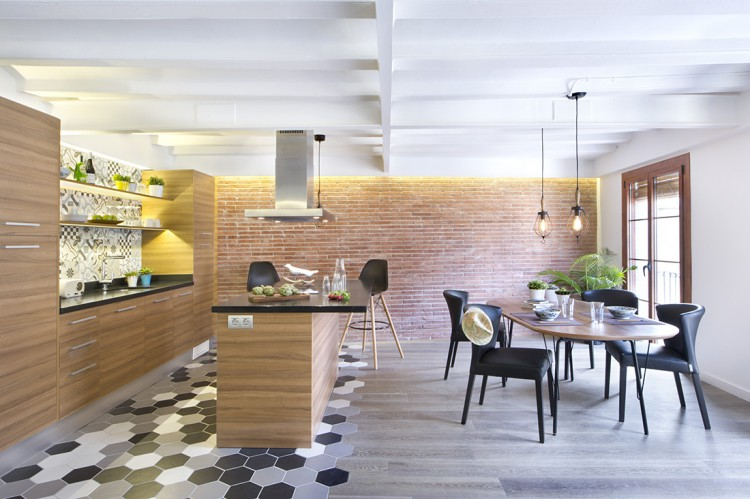 3. Apartment renovation in Barcelona