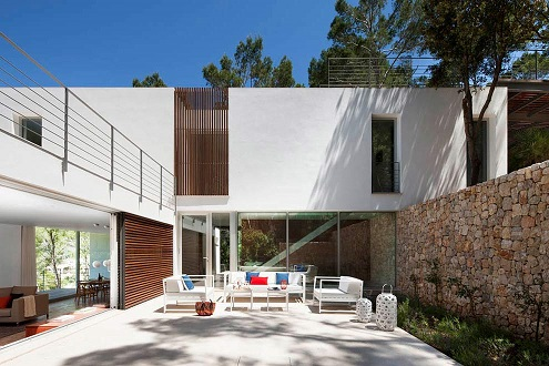 3. House G138 by LF91 - Modular House in Mallorca designed by LF91